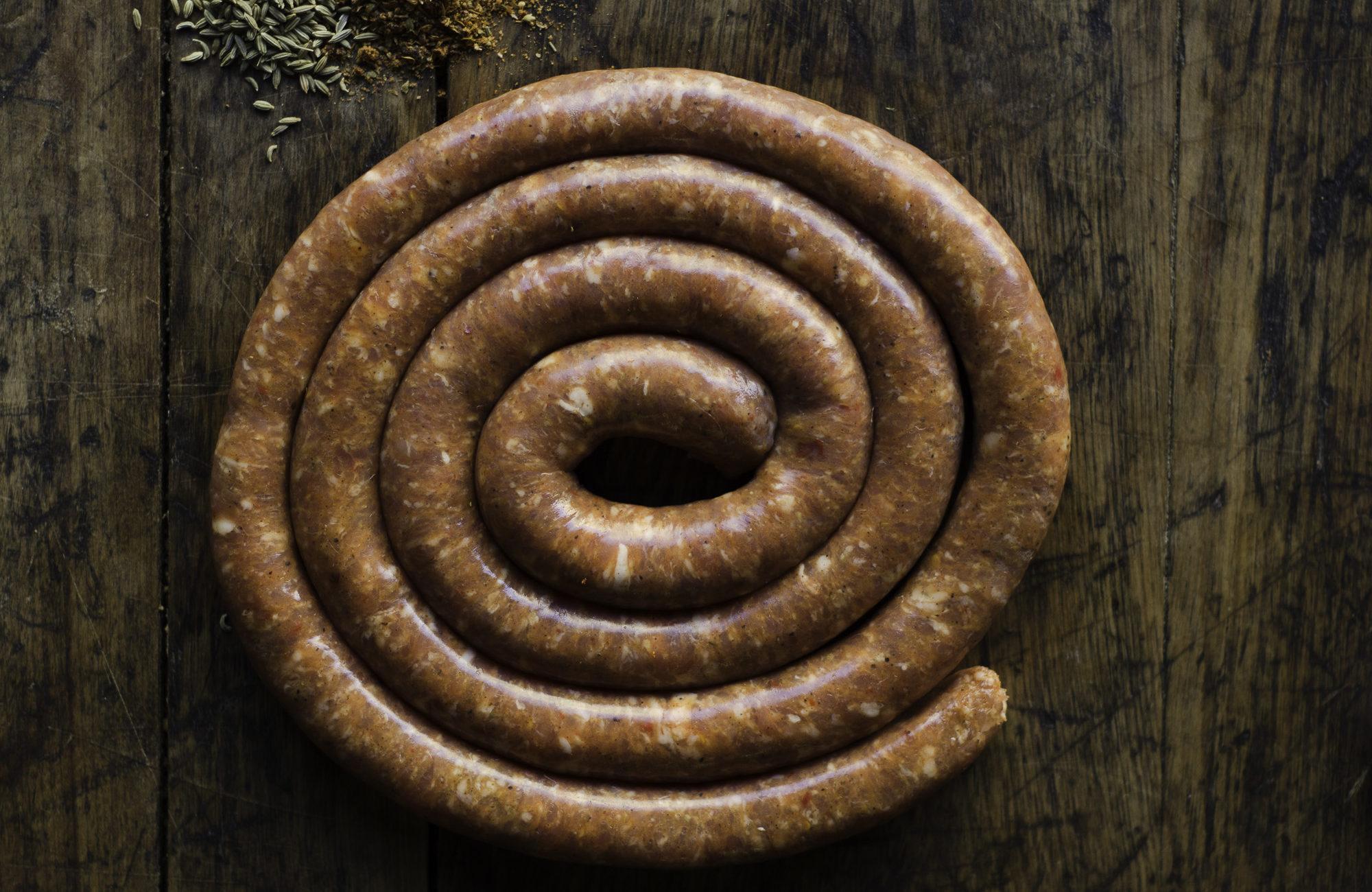 Hot Sausage Wheel Parma Sausage Co